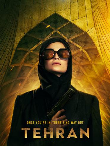 affiche de la série d'espionnage Téhéran