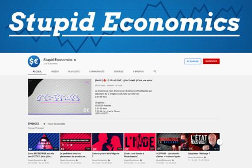 chaine youtube stupid economics