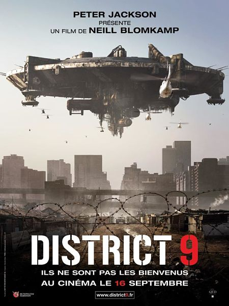 affiche du film district 9