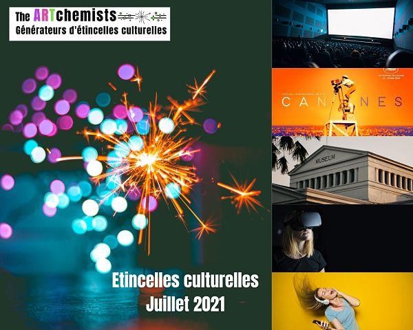 étincelles culturelles the art juillet 2021