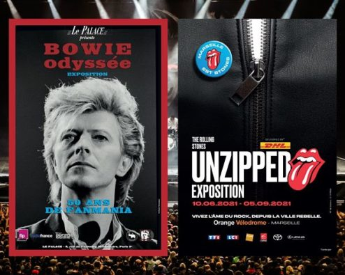 expos bowie rolling stones