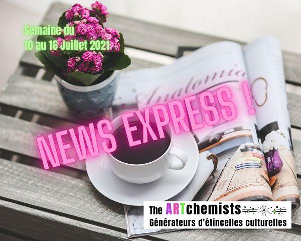 revue de presse the artchemists 10 juillet 2021