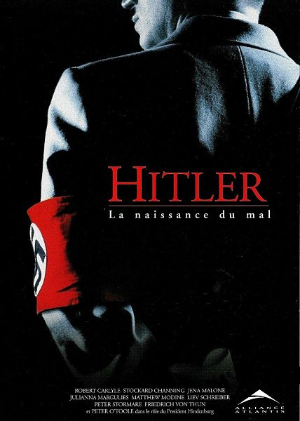 affiche du film Hitler la naissance du mal