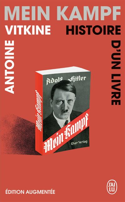 couverture du livre Mein Kampf Histoire d'un livre Antoine Vitkine