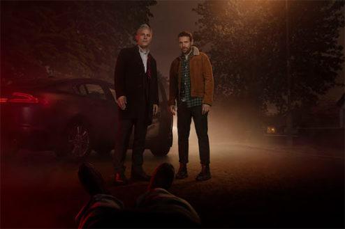 photo extraite de la série britanique Petit meurtre entre frères