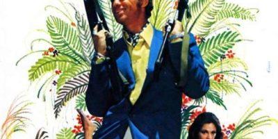 affiche du film Le magnifique de Philippe de broca avec jean-Paul Belmondo
