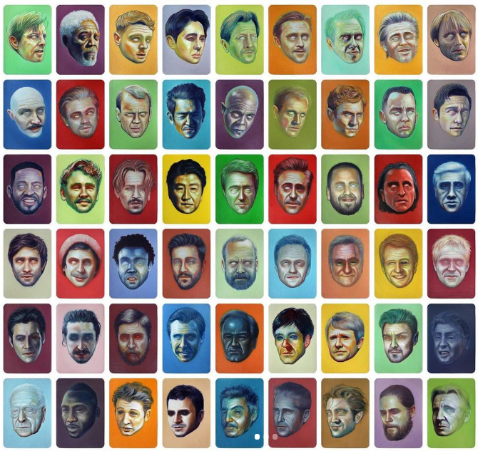 portraits de strangerbot
