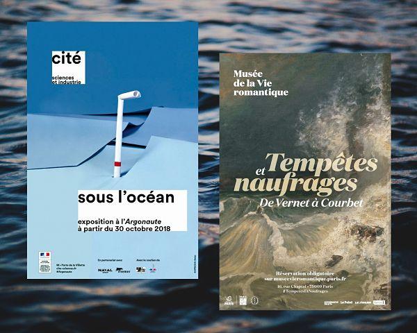 expositions sur la mer