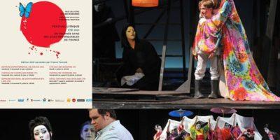 photos du spectacle madame Butterfly dans le cadre du festival opéra en plein air 2021