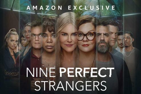 affiche de la série Nine perfect strangers