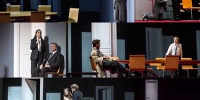 Tragédie Britannicus de Jean Racine mise en scène par Stéphane Braunschweig à la Comédie-Française en 2018