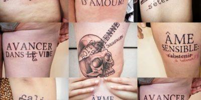 tatouages de l'Androgynette